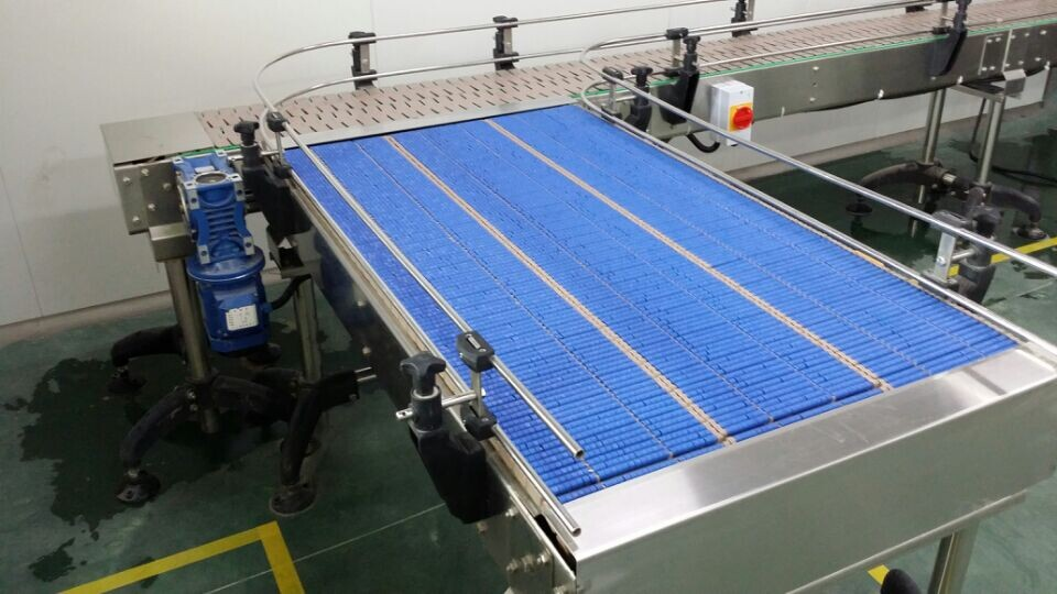 Lbp821 Plastic Chain Conveyor,Roller Table Top Chain
