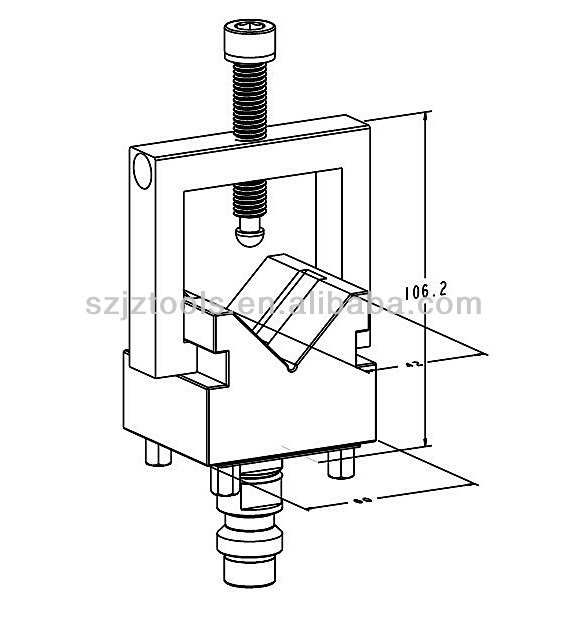 A One V Block Clamping Tools For Quick Clamping 3a-200007