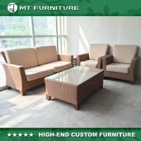 Luxury Metal Rattan Furniture Sunroom Furniture Sets From ...