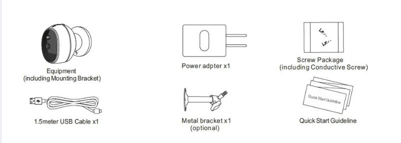 Low Power Smart Ip Wifi Battery Camera 2 Way Audio Smart
