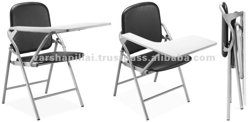folding chair desk rent tablecloths and covers school furniture with writing buy