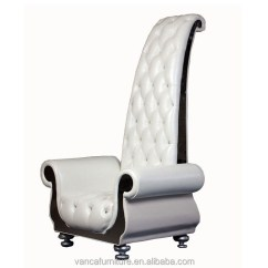 High Backed Throne Chair Modern Kids Luxury White Leather Back Buy Product On Alibaba Com