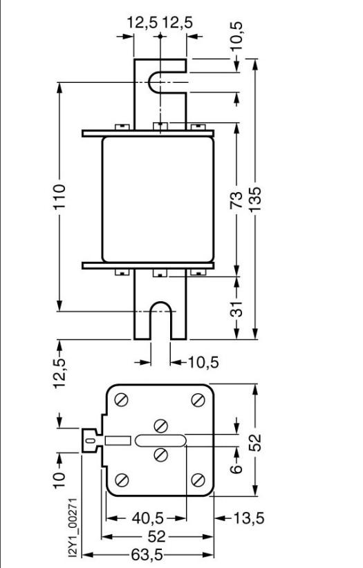 New And Original Electrical Fuse Types 100a 1000v 3ne3221