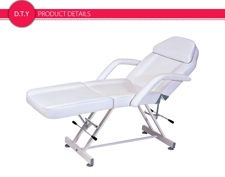 white multi purpose salon chair vibrating infant saloniture professional massage table with adjustable stool