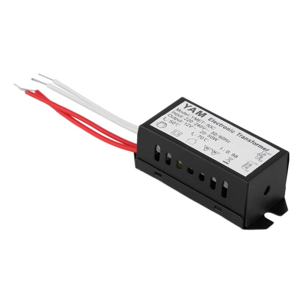 hight resolution of get quotations 1pcs ac 220v to 12v short circuit protection halogen lamp electronic transformer power supply led