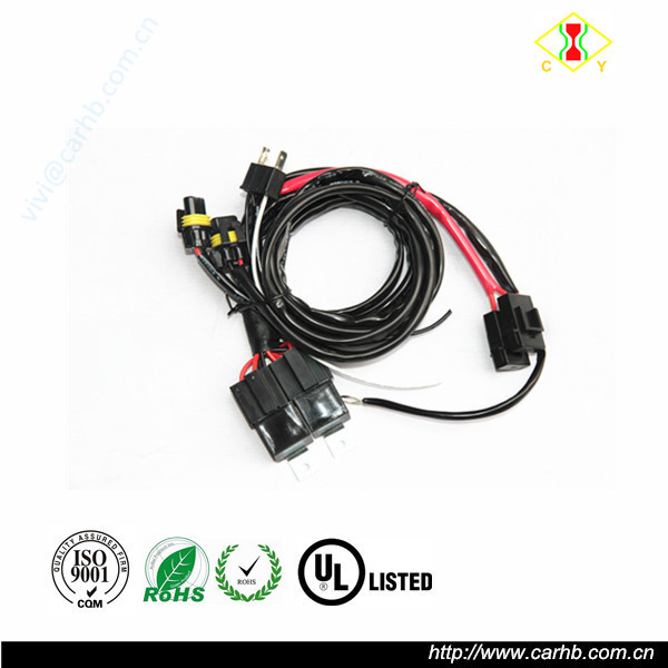 Auto Lighting System 12v 35w Wiring Harness Controller Hid