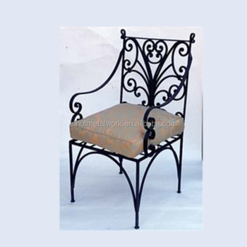 antique metal chairs for sale free church wrought iron patio furniture rod vintage garden chair