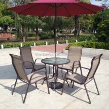 Weatherproof Outdoor Patio Dining Sling Sets