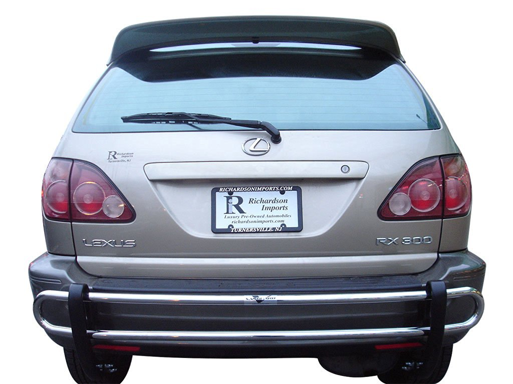 hight resolution of get quotations vanguard 1999 2003 lexus rx300 rear bumper guard double tube s s