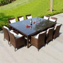 All Weather Garden Chairs Red Chair Covers For Sale Annabelle Outdoor Furniture Wicker Rattan 10 Seater Dining Table