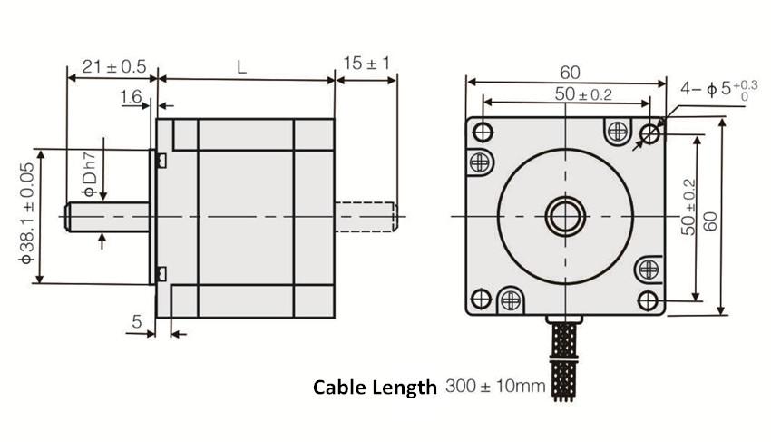 Single Axis Cnc Controller Kit Nema24 Stepper Motor 457oz