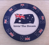 Cheap Custom Printed Dinner Paper Plate Made In China ...