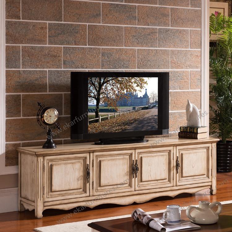 Living Room Furniture Led Tv Stand Design / Mdf Tv Stand