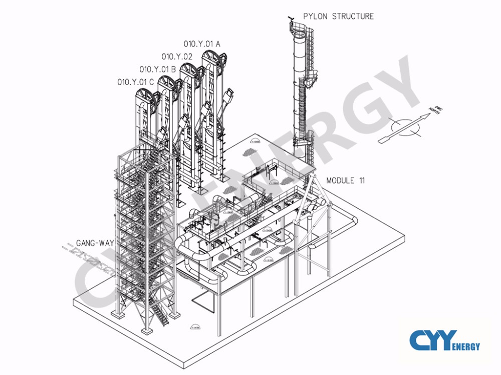 5tpd~50tpd Small Scale Liquified Natural Gas Plant Lng