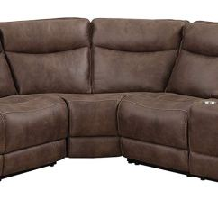 Lane Dual Power Reclining Sofa Loveseat And Chair Cheap Sectional Find Deals Get Quotations Mstar Mny2399 3pc Sect 27226 Westwood Brown
