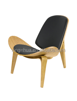 shell chair replica mission style dining room chairs hans wegner leisure living furniture buy