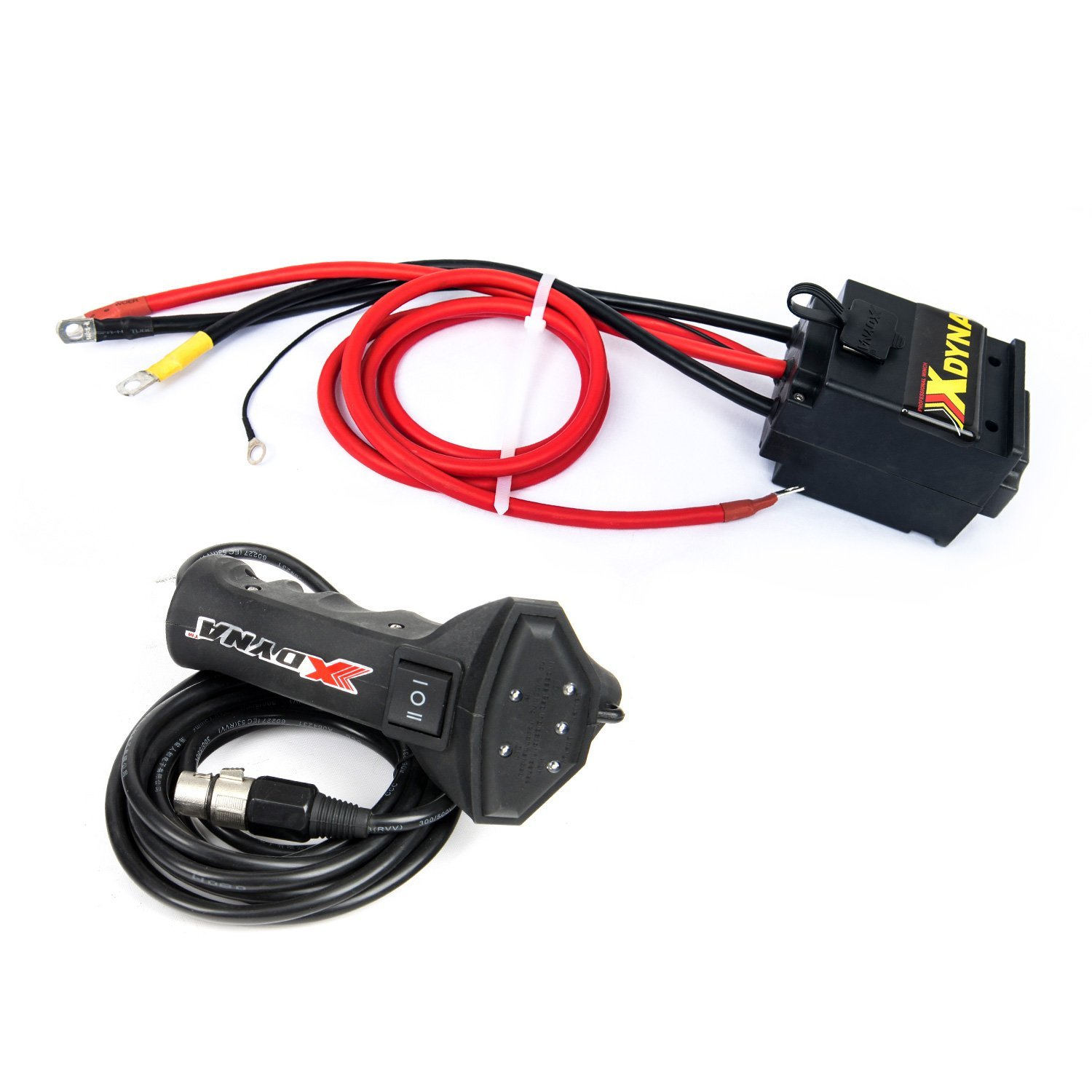 hight resolution of get quotations xdyna intelligent winch waterproof control box 12v 500a handlebar switch showing load