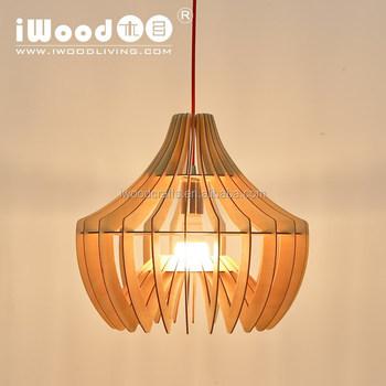 Modern Wood Chandelier For Ceiling Lights Led Light