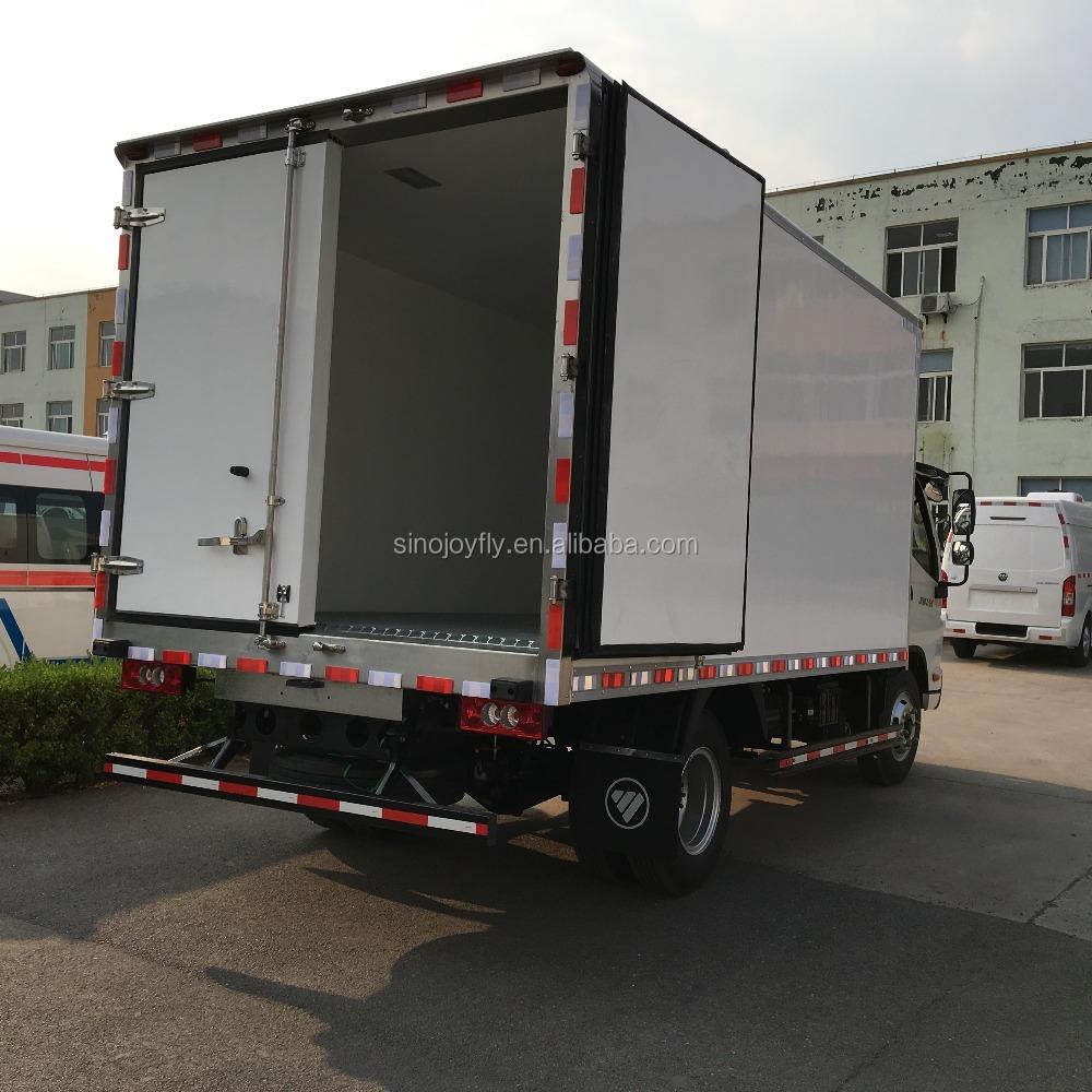 medium resolution of ckd refrigerator truck bodies dry box truck body