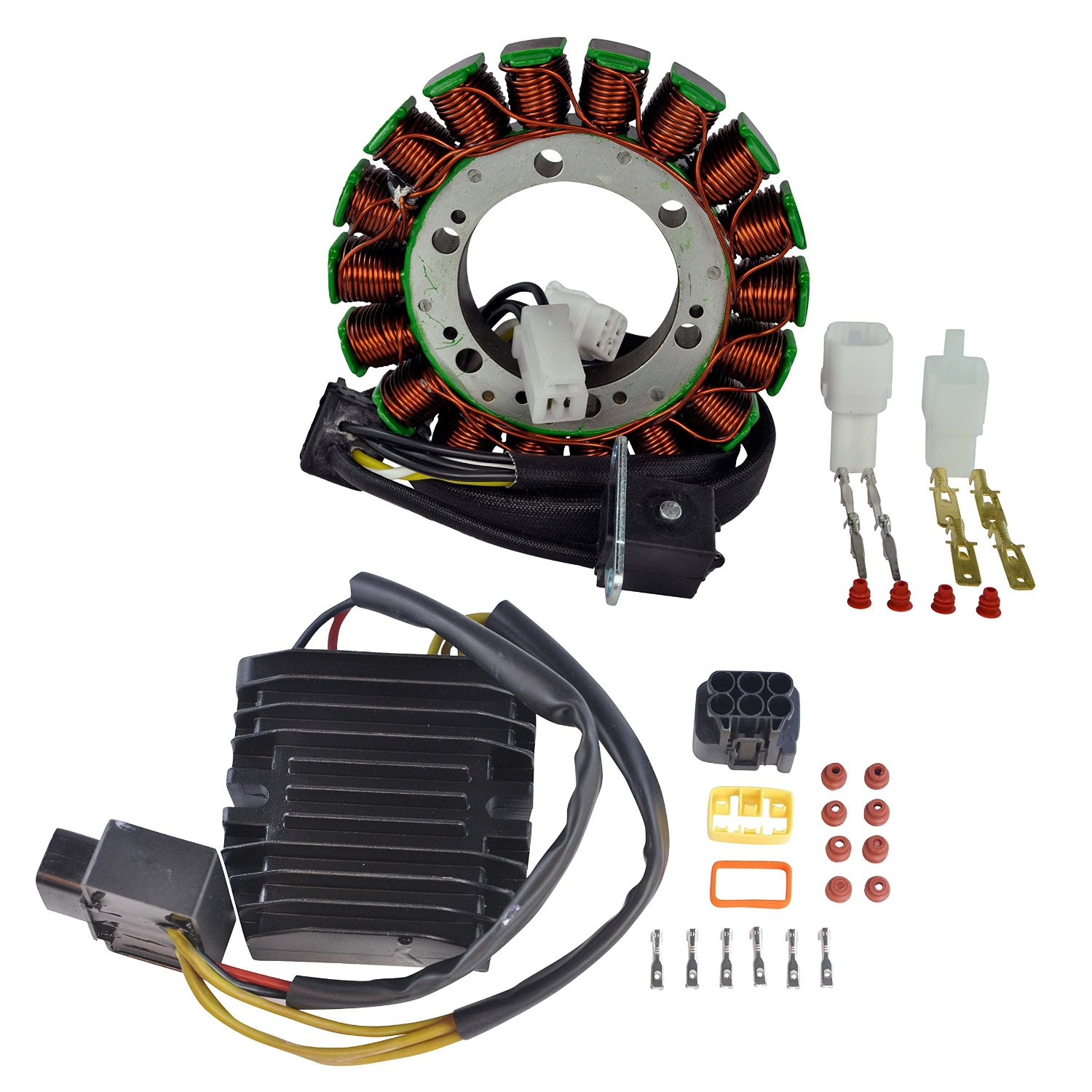 hight resolution of get quotations kit stator mosfet voltage regulator rectifier for arctic cat 650 suzuki lta ltf 400