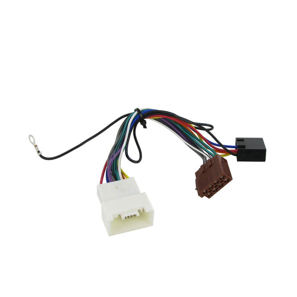 hight resolution of get quotations wiring harness adapter for mitsubishi lancer 2007 iso stereo plug adaptor