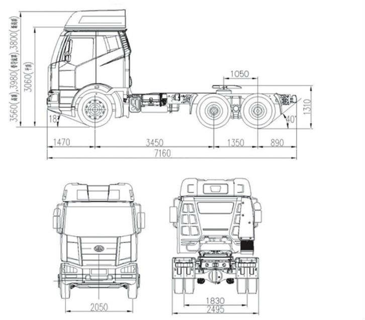 Sinotruck Howo 10 Wheels 380hp Tractor Head Truck For Sale