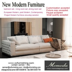 Luxury Leather Living Room Sets Where To Place Furniture High End Sofa 1 Set Customized Factory Foshan Italian Beige Full Genuine Couch Accept Paypal