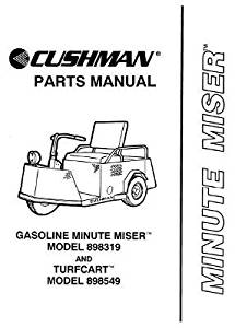 Buy EZGO 837638 1990-1994 Parts Manual for Cushman Titan
