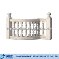Beautiful Stone Modern Design For Outdoor Balcony Railing