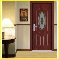 Bg-p9091 House Front Pvc Wooden Single Main Door Design ...