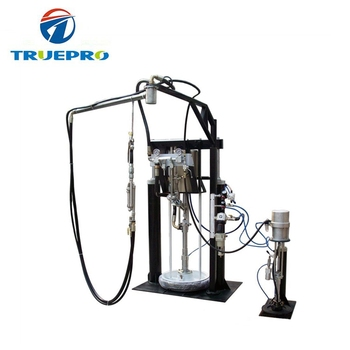 Manual Two Components Insulating Glass Sealing Machine