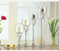 Cheap Tall Clear Glass Candle Holder For Wholesale - Buy ...