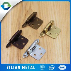 Kitchen Cabinet Hardware Hinges Aid Refridgerator Wholesale Cheap Metal Parts Self Closing Locking Hinge Brass