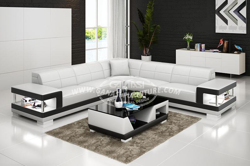latest sofa set designs grain leather for living room justicearea com wonderful g8017 g8017b