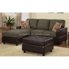 Cushion Sofa Set Tan Sectional Teak Wood Designs Small Corner Buy