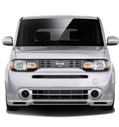 2009 2014 nissan cube couture vortex front lip under air dam spoiler 1 piece [ 1024 x 768 Pixel ]