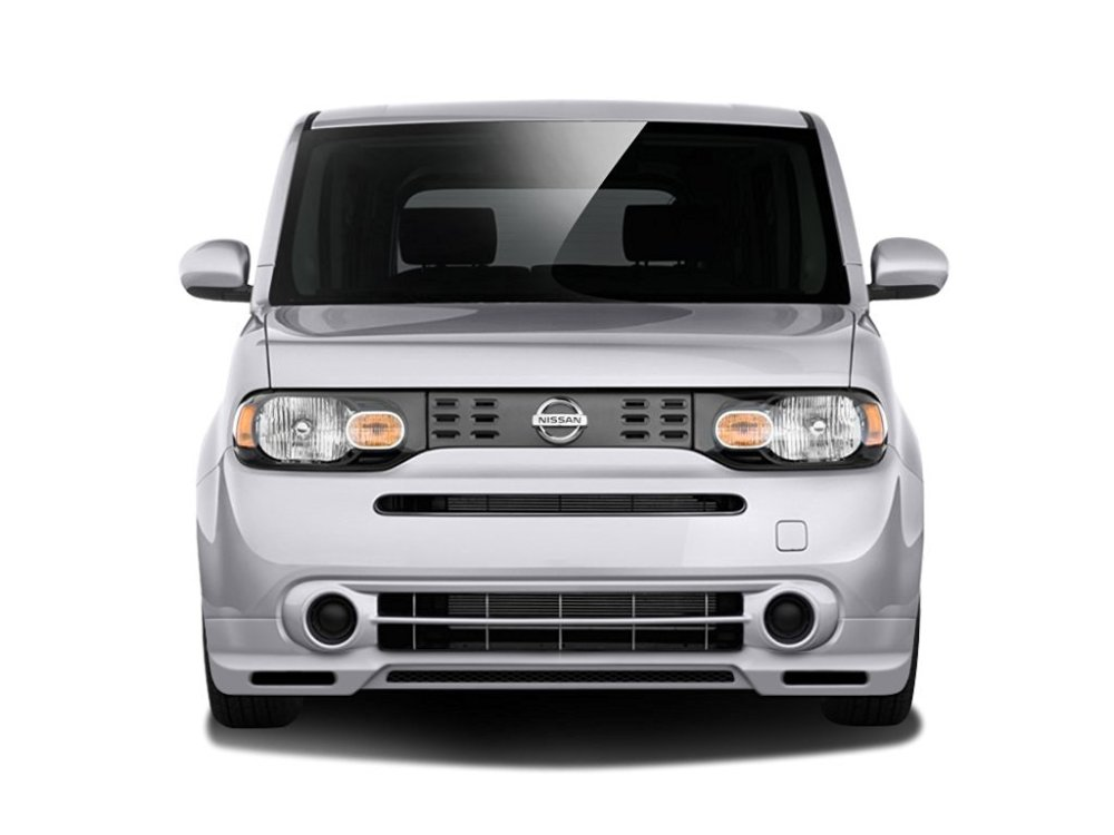 medium resolution of 2009 2014 nissan cube couture vortex front lip under air dam spoiler 1 piece
