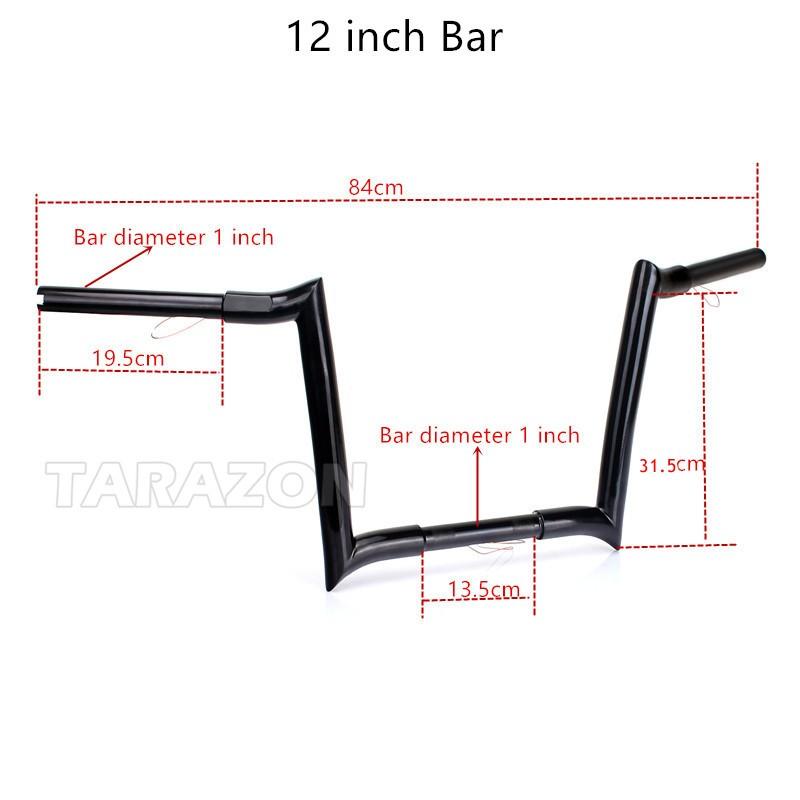 Tig Welding Metal Steel 14'' Ape Hanger Handlebars For