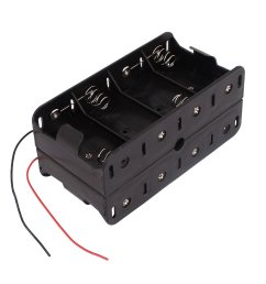 get quotations 1 5v d size battery box toogoo r dual wires double sides storage case [ 1100 x 1100 Pixel ]