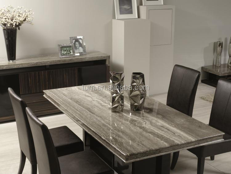 marble living room furniture modern design for apartments luxury top dining table view