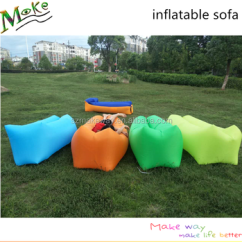 Inflatable Camping Chair Majestic Home Goods Bean Bag 2017 Custom Logo Printed Air Filled Laybed Original Hiking Fast Lightweight Beach Bags
