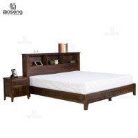 Boseng Latest Double Bed Designs King Size Murphy Bed ...