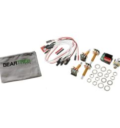 get quotations emg 1 or 2 pickup active solderless conversion wiring kit ls long shaft w geart [ 1500 x 1500 Pixel ]