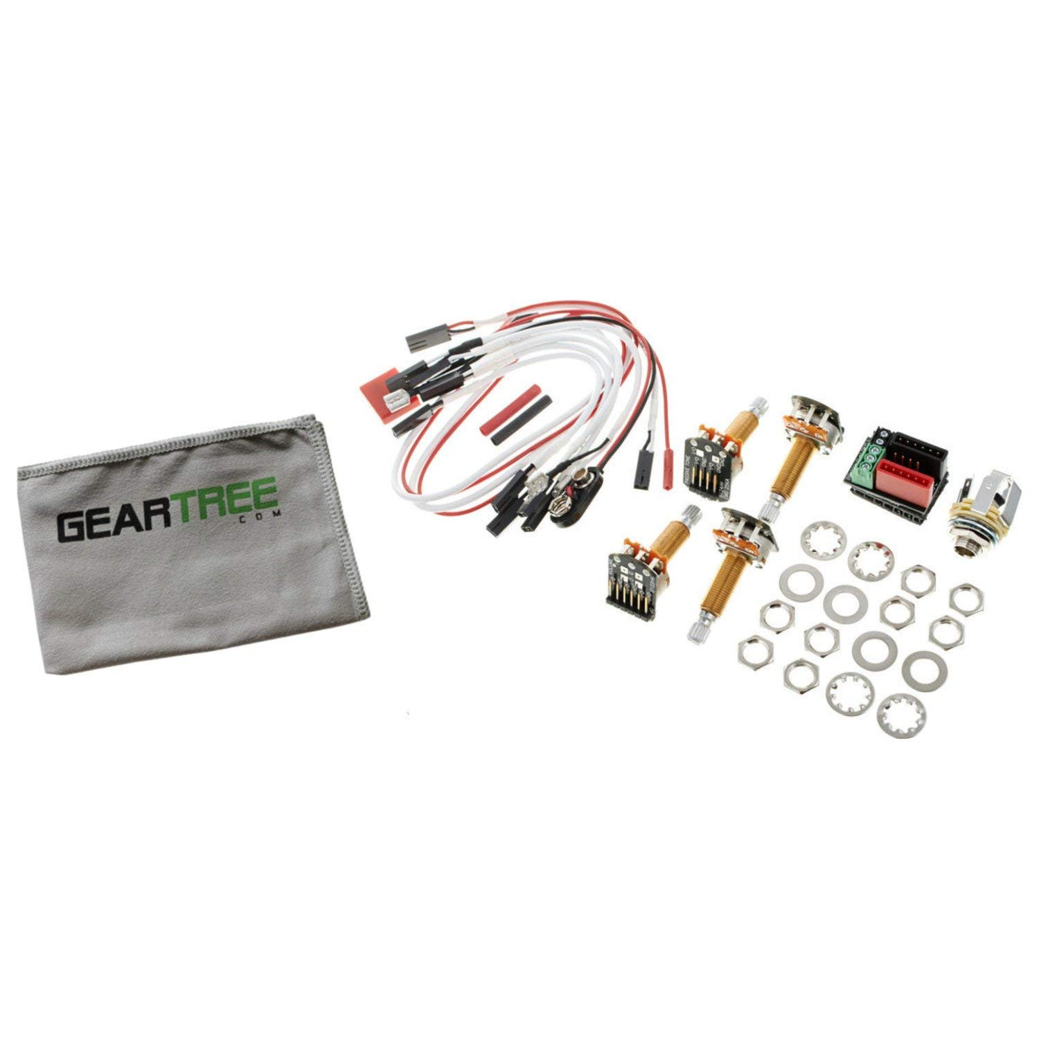 hight resolution of get quotations emg 1 or 2 pickup active solderless conversion wiring kit ls long shaft w geart