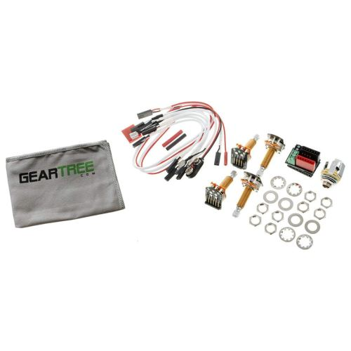 small resolution of get quotations emg 1 or 2 pickup active solderless conversion wiring kit ls long shaft w geart