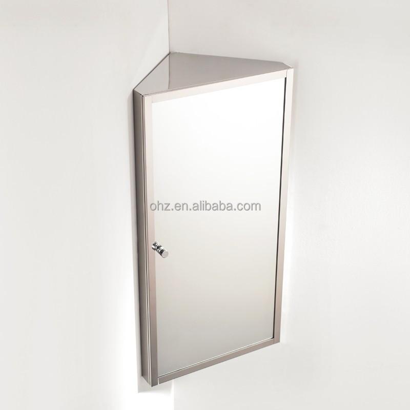 armoire d angle mural suspendu en acier inoxydable 7041 petit meuble a miroir armoire de salle de bains buy armoire de salle de bain armoire miroir