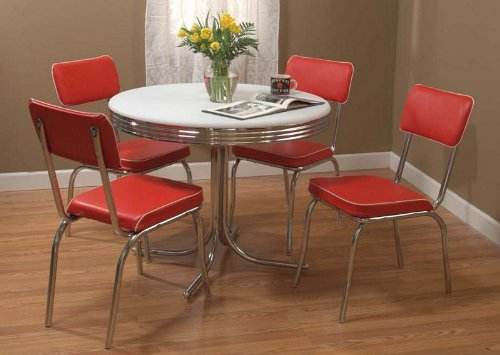 dining chairs set of 4 target hercules folding cheap room find deals on line at marketing systems 5 piece retro with and 1 round