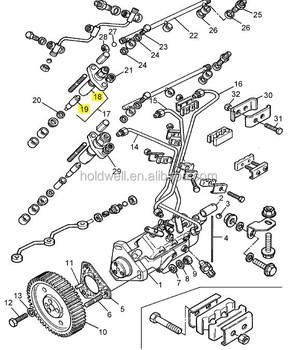 MASSEY FERGUSON Tractor MF 230 fuel injector nozzle, View