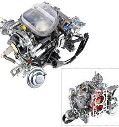 get quotations alavente 21100 35463 carburetor carb for toyota pickup trucks 1988 1990 22r engine  [ 1300 x 1300 Pixel ]