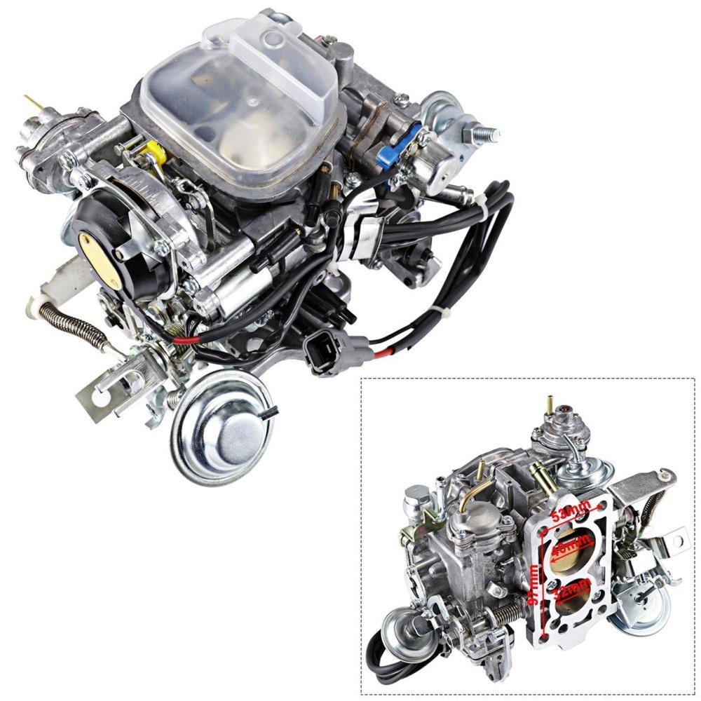 medium resolution of get quotations alavente 21100 35463 carburetor carb for toyota pickup trucks 1988 1990 22r engine